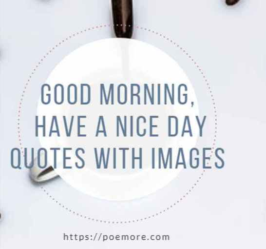 132 Good Morning Wishes Messages And Have A Nice Day Quotes