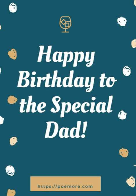 Happy Birthday Dad Wishes and Messages