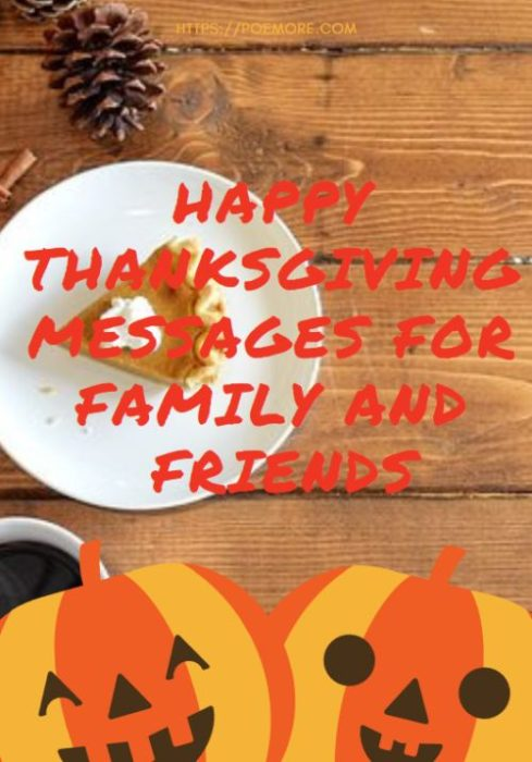 50+ Happy Thanksgiving Messages, Wishes and Greetings