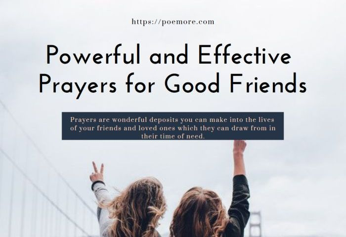 2019 Top Powerful and Effective Prayers for Good Friends