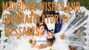 50+ Wedding Wishes with Congratulations Messages