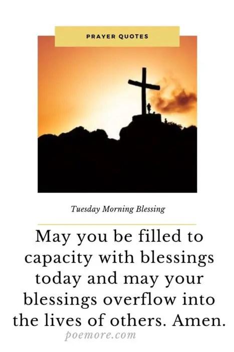 Tuesday Motivation Morning Prayers