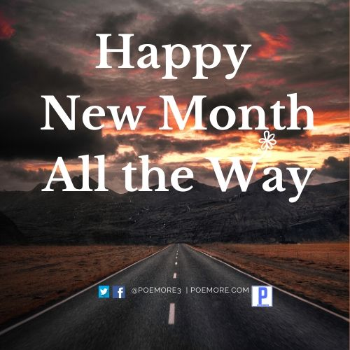 Happy New Month Image
