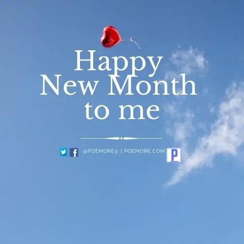 Happy New Month My Love