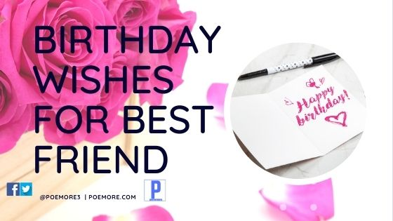 50 Birthday Wishes For Friends And Best Friend Poemore