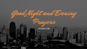 Evening Prayers