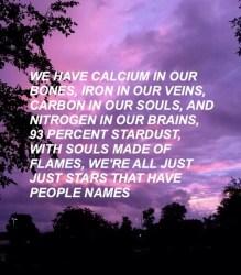 quotes aesthetic poems poem sad words stardust aesthetics purple grunge sky qoutes quote poetry profile names google percent scream captions