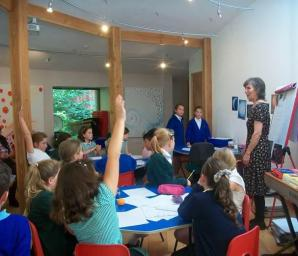 Able Writers' Day, hosted by Bishop Cornish Primary School, Saltash, Oct. 16.
