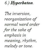 Hyperbaton