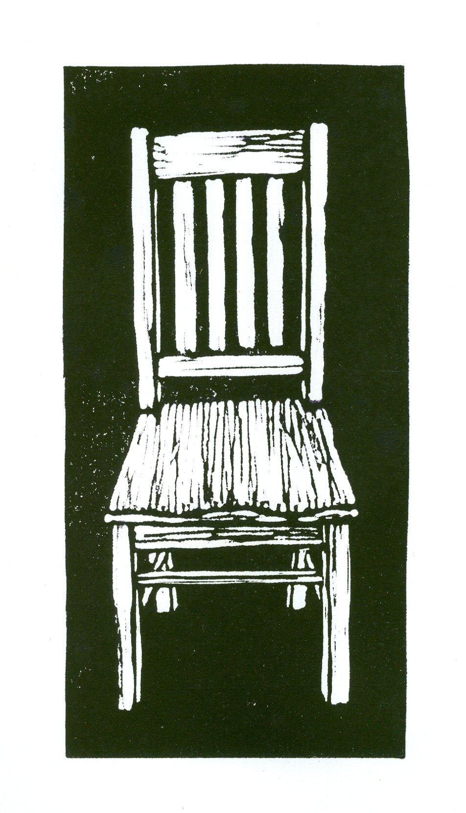 Blockprint Chair