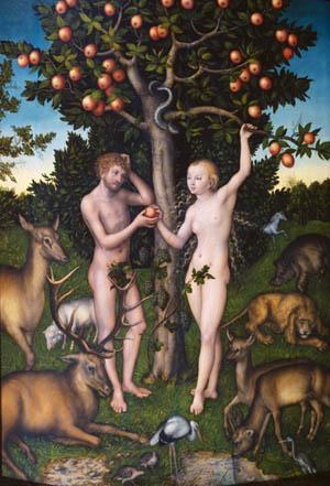 Cranach's Adam & Eve