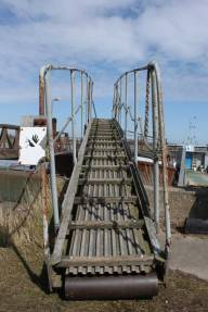 Boat bridge, Orford Ness