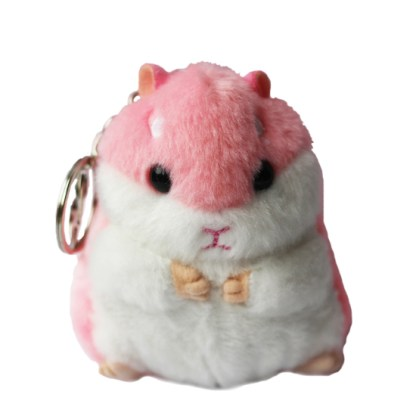 Sleutelhanger hamster roze
