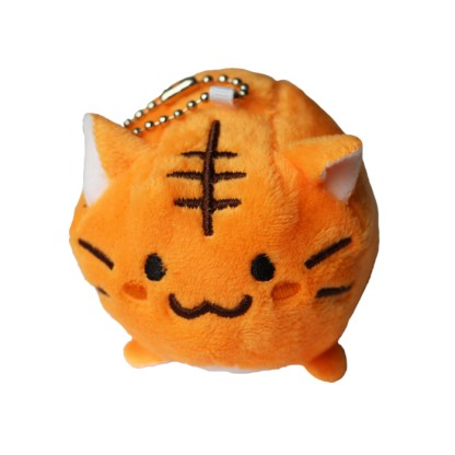 Kat knuffel oranje