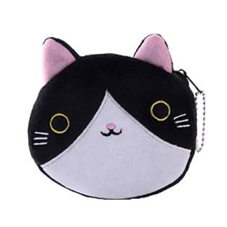 Kat portemonnee zwart