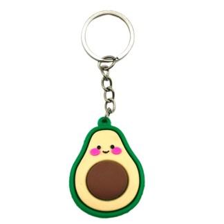 Sleutelhanger kawaii avocado