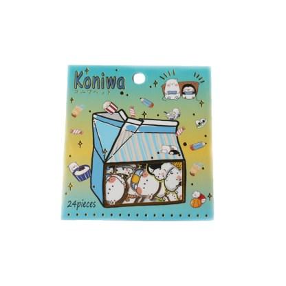 Koniwa hamster stickers