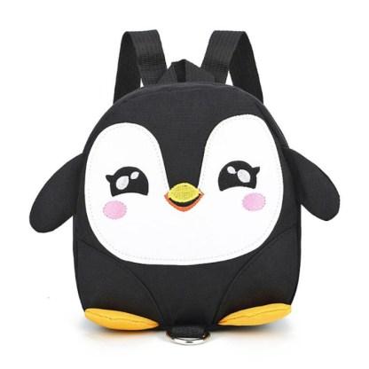 Pinguïn rugzak zwart