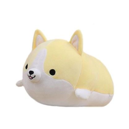 Shiba knuffel geel