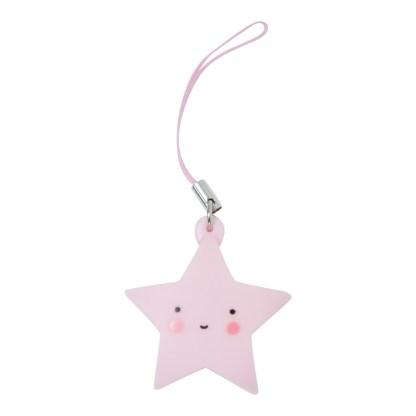 Hangertje ster roze