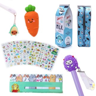 Stationary pakket + kawaii cadeau