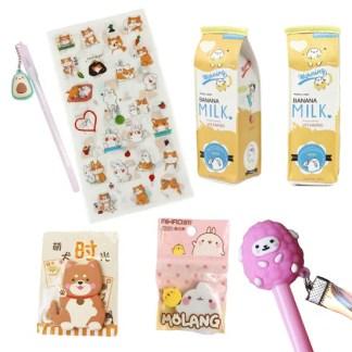 Stationary pakket shiba + cadeau