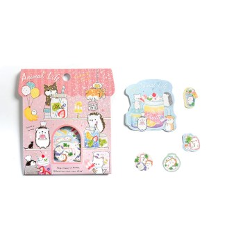 Kawaii egel stickers