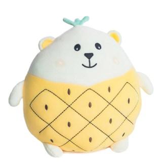 IJsbeer squishmallow in zomeroutfit