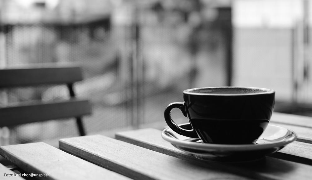 Tasse ohne Kaffee