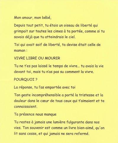 Poeme D Amour A Son Fils : poeme, amour, Poeme