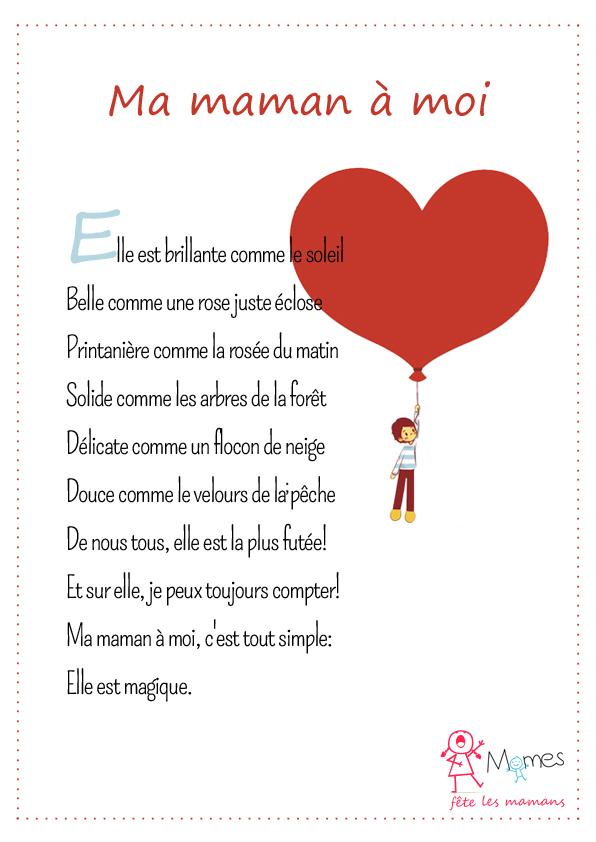 Je T Aime En Toute Les Langue : toute, langue, Poeme, Maman