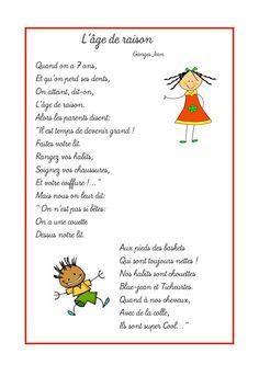 7 Ans Age De Raison : raison, Poesie, L'age, Raison