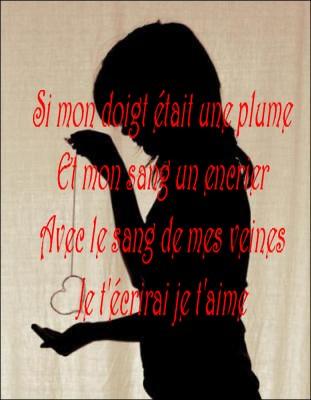 Petit Texte D Amour Pour Lui : petit, texte, amour, Poesie, D'amour