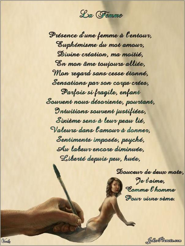 Poeme Sur La Beauté D'une Femme : poeme, beauté, d'une, femme, Poesie, Femme