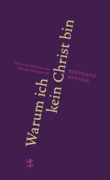 Bertrand Russell: Warum ich kein Christ bin, Cover
