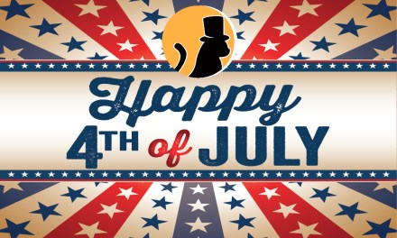 Happy Independence Day from Poe's Magic Theatre