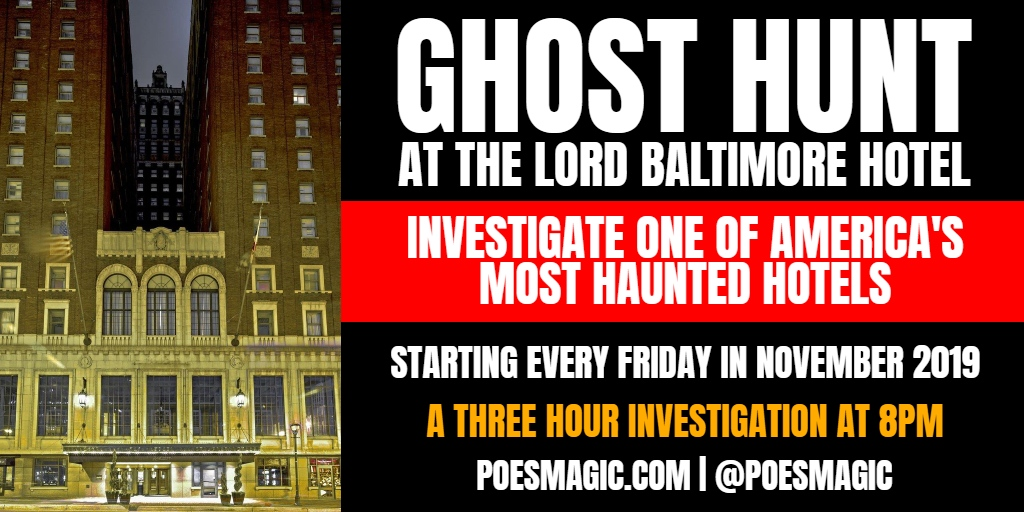 GHOST HUNT Graphic #1
