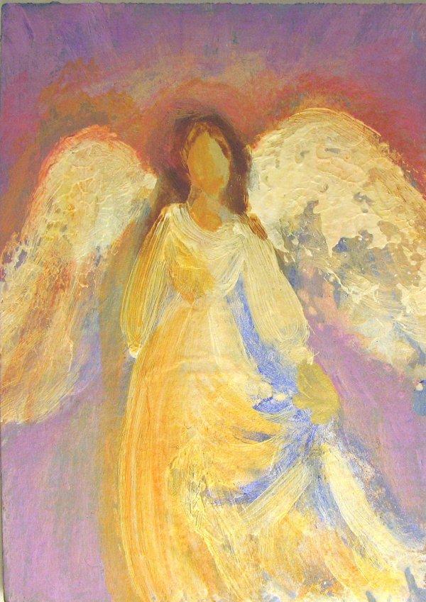 Healing Angel Painting