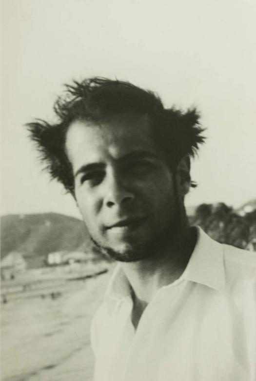 Humberto Vinueza joven despeinado