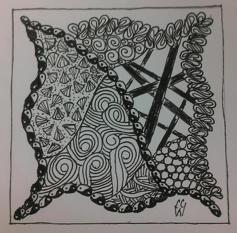 Zentangle 9