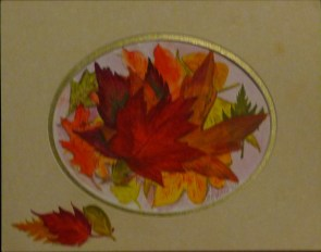 October 1st watercolor