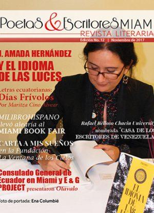 Poetas y Escritores Miami Edición No. 12 - Noviembre 2017