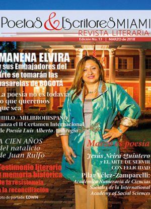 Poetas y Escritores Miami - Edición No. 13 Marzo 2018