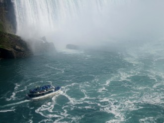 Maid of the Mist getting closer...
