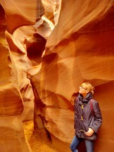 Walking through the canyon was truly a spiritual experience as much as it was a feast for my eyes...