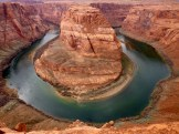 The Colorado River is at 980 m above sea level.