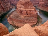 Horseshoe Bend is a horseshoe-shaped meander of the Colorado River located near the town of Page, AZ