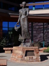 Sedona was named after Sedona Arabella Miller Schnebly, the wife of Theodore Carlton Schnebly, the city's first postmaster.