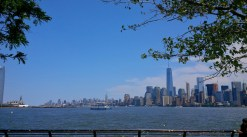 View on NYC from the island.
