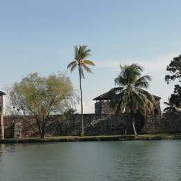 Castillo de San Felipe en el Lago Izabal